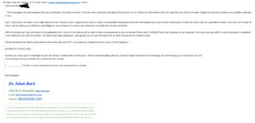 Fake Adam Back email 02