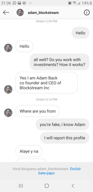 Chat history with fake Adam Back (Spanish) 01